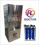 RO DOCTOR AUTOMATIC 50 LPH RO WITH SS DISPENSER UNIT